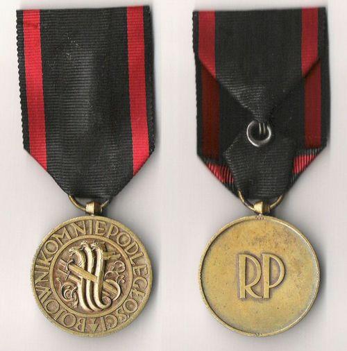 Medal niepodleglosci Polskaaa